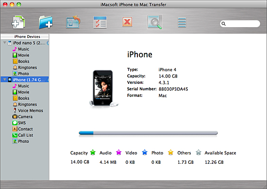 How to Transfer Music/Video from iPhone to iPod on Mac