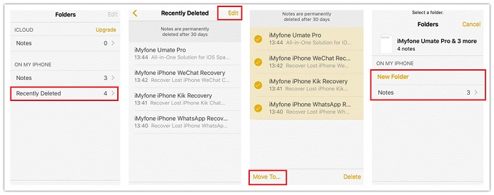 How to Recover Deleted Notes on iPhone - iPhone Notes Recovery