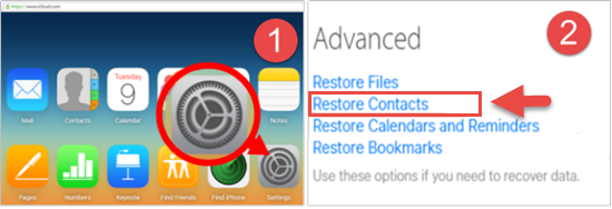 retrieve deleted contacts iphone how to restore deleted lost contacts on iphone contacts 16022